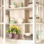 8-dulap vitrina desgn rustic pentru vasele de bucatarie