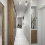 8-dulapuri cu multe spatii de depozitare proiectate in continuarea mobilei de bucatarie din garsoniera