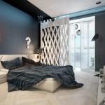 8-exemplu amenajare dormitor masculin in alb gri si bej