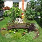 8-exemplu de amenajare a unei gradini mici cu flori si arbusti decorativi