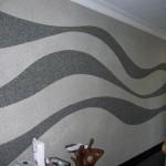 8-exemplu de formare a modelelor decorative cu ajutorul tapetelor lichide