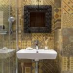 8-faianta tip patchwork finisaj baie amenajata modern cu influente marocane