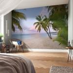 8-fototapet-plaja-exotica-marca-komar-decor-perete-dormitor