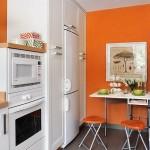 8-frigider si spatii depozitare mobilier bucatarie in forma literei U