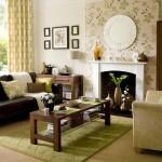 8-imprimeul floral in decorul livingului