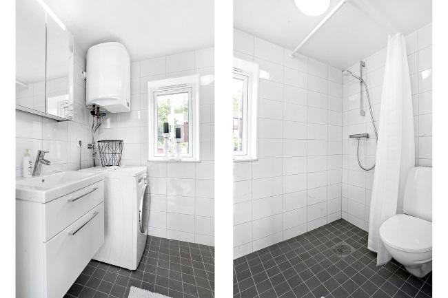 8-interior baie moderna amenajata in alb si negru