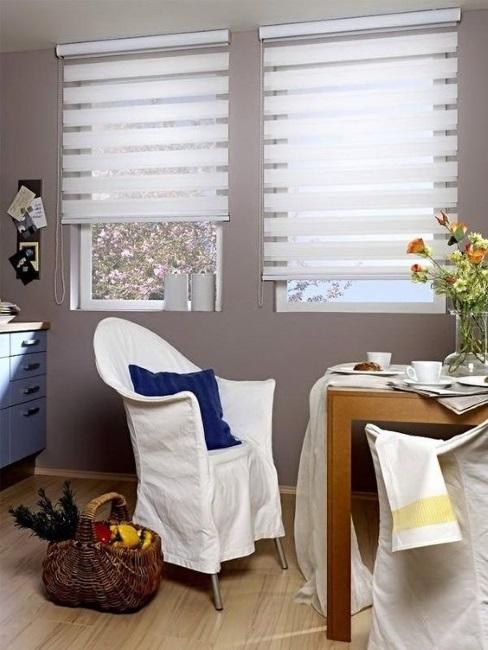 jaluzele zebra albe decor ferestre inguste