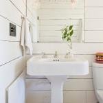 8-lambriu lemn alb reciclat pereti baie casa veche 50 mp reciclata