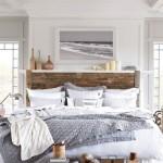 8-lemn in decorul unui dormitor amenajat in stil scandinav