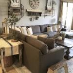 8-living accesorizat cu decoratiuni si accesorii rustice