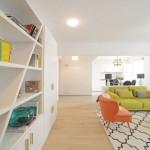 8-living si bucatarie open space apartament 3 camere Bucuresti