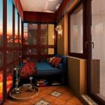 8-loc de lectura amenajat intr-un mic balcon de apartament