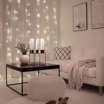8-luminite decorative tip fairy lights in amenajarea livingului