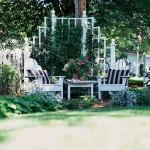 8-masa si fotolii loc relaxare colt gradina