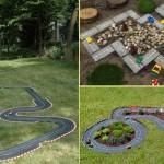 8-mini circuit si pista de masini in curtea casei