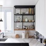 8-mobila bucatarie cu dulapuri suspendate pana in tavan