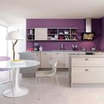 8-mobila bucatarie moderna culoare fag si argintiu