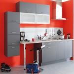 8-mobila compacta gri design modern bucatarie mica