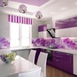 8-mobila lila inchis amenajare bucatarie moderna
