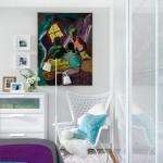 8-mobilier alb dormitor modern dupa renovare