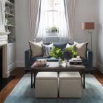 8-model canapea 2 locuri gri cu picioare lemn amenajare living mic apartament