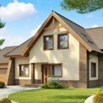8-model casa parter si mansarda pe structura metalica