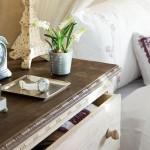 8-noptiera comoda cu sertare dormitor romantic rustic mansarda
