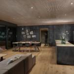 8-open space living bucatarie si dining casa modulara pasiva Pop-Up House