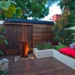 8-panou decorativ din lemn tip sculptura filigran decor gradina moderna