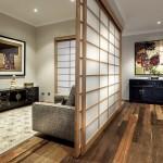 8-paravan despatitor din lemn si hartie de orez decor japonez