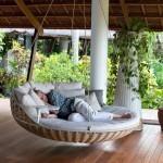 8-pat balansoar suspendat de gradina sau terasa
