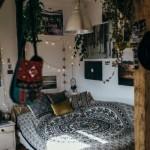 8-pat in coltul camerei dormitor matrimonial stil boem