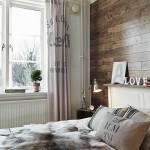 8-perete dormitor placat cu parchet lemn