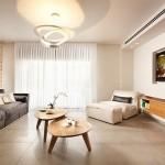 8-perete placat cu caramida aparenta decor living modern minimalist