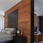 8-perete placat cu parchet laminat decor dormitor de lux
