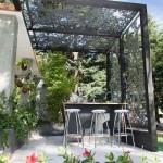 8-pergola design minimalist structura metalica si plasa