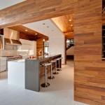 8-placare pereti parchet sau lambriu lemn decor casa moderna