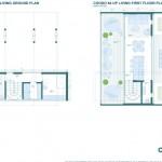 8-plan compartimentare interioara model casa Coodo 64 UP parter si etaj