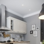 8-plinta alba lata aplicata la imbinarea peretilor cu tavanul din bucatarie