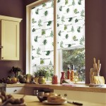 8-rulouri textile imprimeu decor fereastra bucatarie