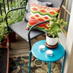 8-scaun din rattan impletit decor balcon mic apartament