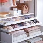 8-sertare speciale pentru organizarea accesoriilor in dressing