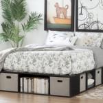 8-spatii de depozitare in carcasa patului din dormitor