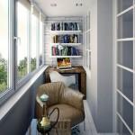 8-spatiu de lectutra, lucru si relaxare balcon ingust