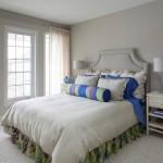 8-tablie pat dormitor in aceeasi nuanta cu peretii gri