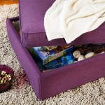 8-tabureta puf cu lada de depozitare decor living modern