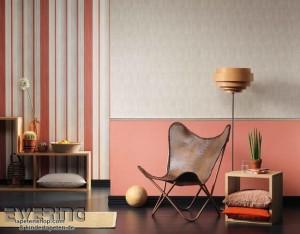 8-varianta asortare tapet decorativ cu diverse modele de imprimeu