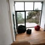 8-vedere din dormitor open space casa mica 35 mp