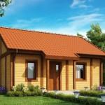 8-vedere frontala proiect casa mica 37 mp cu 1 dormitor