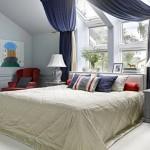 9-amenajare dormitor matrimonial cu patul la fereastra